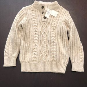 NWT Baby GAP Knit Sweater Size 5